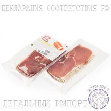 Ветчина сыровяленая свиной Окорок Курадо Tello с перцем в нарезке - 125 г (Испания)