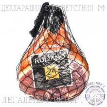 Ветчина сыровяленая свиной Окорок Прошутто Крудо Ruliano Прошутто Крудо с перцем б/к 24 мес ~ 8 кг (Италия)