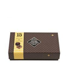 Конфеты шоколадные Michel Cluizel ассорти чёрного и молочного Сундучок - 165 г (Франция)