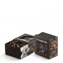 Конфеты драже Michel Cluizel ассорти Тируар 4 вида в тёмном шоколаде - 250 г (Франция)