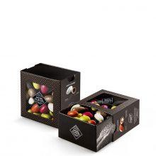Конфеты драже Michel Cluizel Попсовый Миндаль в шоколаде и в глазури - 250 г (Франция)